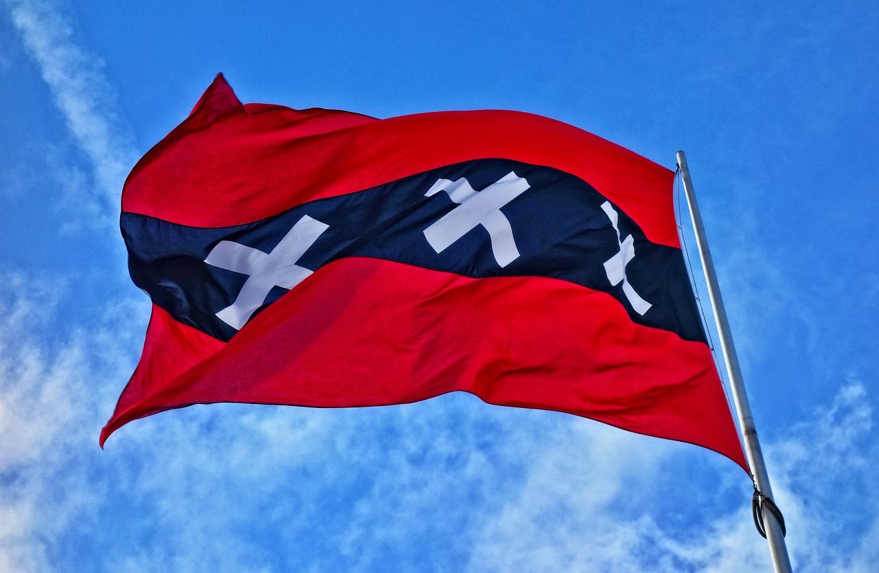 bandera de Ámsterdam